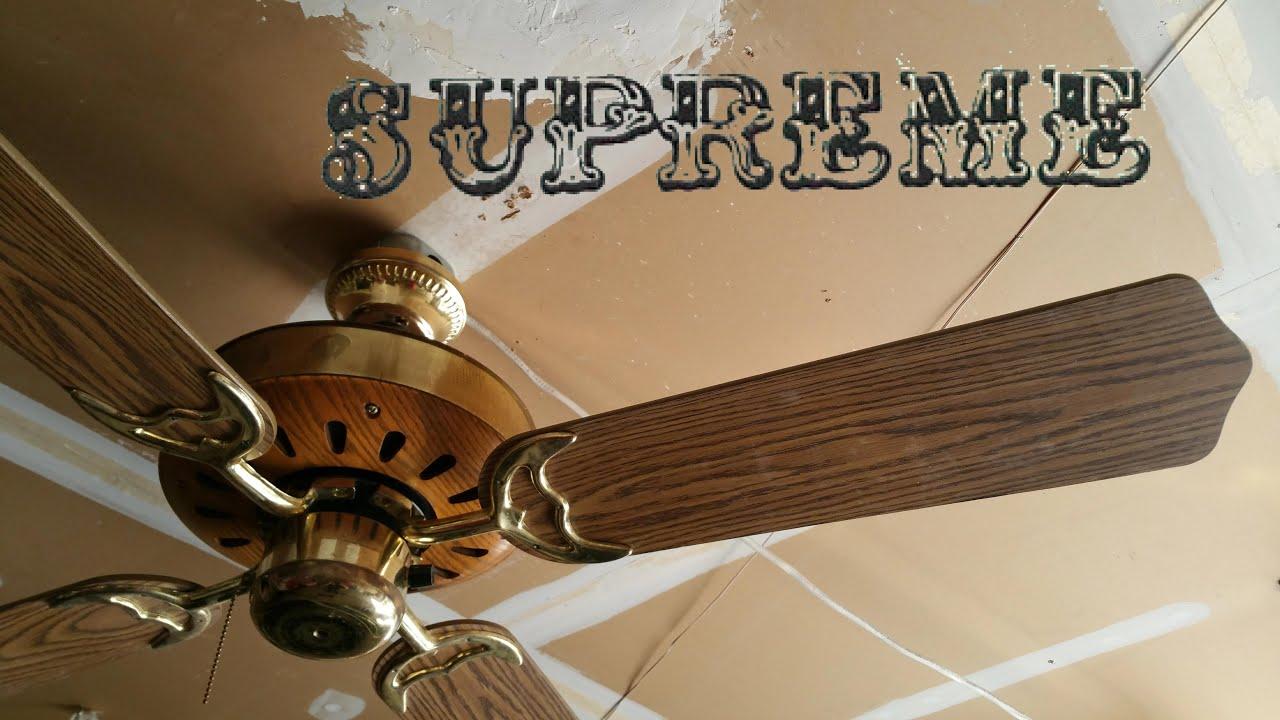 Supreme Mark X Ceiling Fan