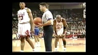 michael jordan age 29 44 pts 21 32 66 fg vs cleveland cavs march 28 1992 720p