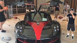 BMW Driver Goes SUPERCAR Shopping! (Pagani, Bugatti, Lamborghini, Ferrari, McLaren)