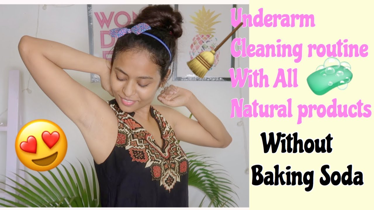 My Underarm Routine with All Natural Products| Clean dark-spot, Underarm Rash, Underarm smell Easily