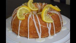Lemon Poundcake easy recipe!