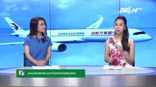 (VTC14)_Máy bay Trung Quốc hạ cánh khẩn cấp vì bị thủng một lỗ lớn