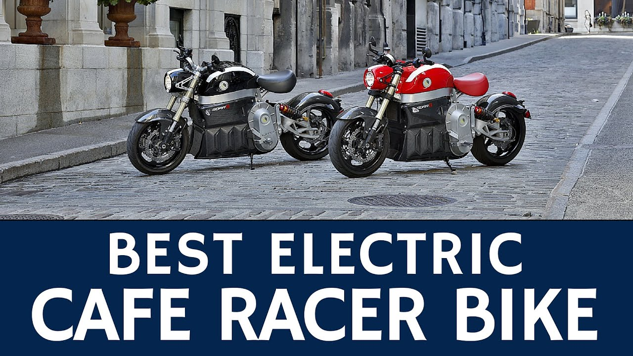 Powerful Cafe Racer Motorcycle with Best Electric Range: Lito Green Motion  Sora