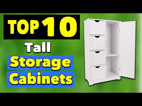 best-tall-storage-cabinets-with-doors-and-shelves