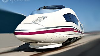 Super High Speed Train Ride in Spain