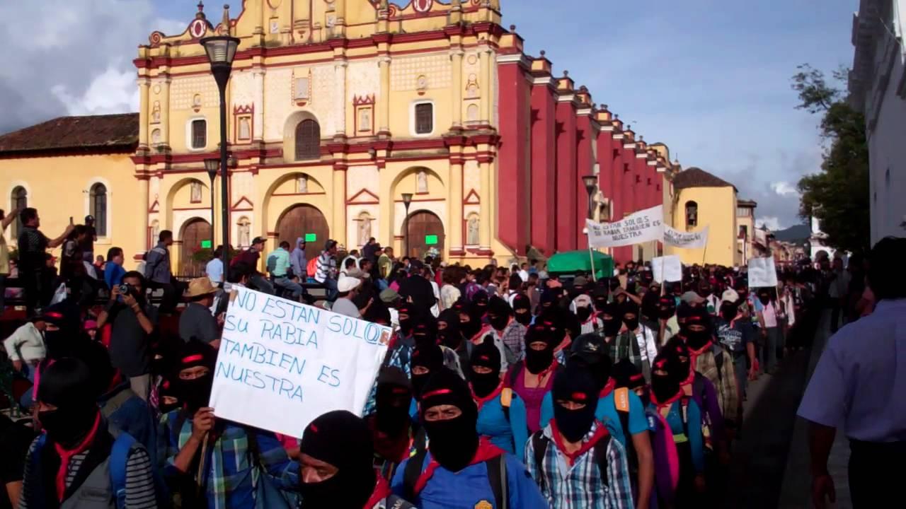 Risultati immagini per san cristobal de las casas zapatismo