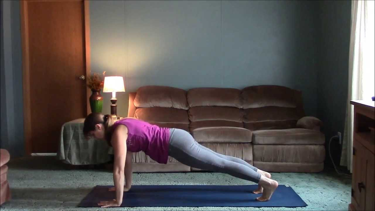 Living room yoga session 1 20 minute flow youtube for Living room yoga