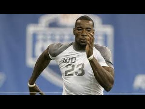 Calvin Johnson NFL Combine 40 Yard Dash 4.35 Seconds