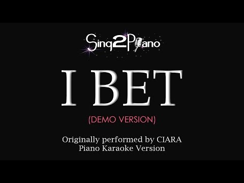 I Bet (Piano Karaoke demo) Ciara