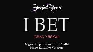 I Bet (Piano Karaoke demo) Ciara