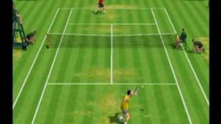 Tennis 2K2 (Dreamcast) Gameplay