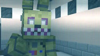 Five Nights At Freddys 3 IM THE PURPLE GUY Dagames | Minecraft Animation