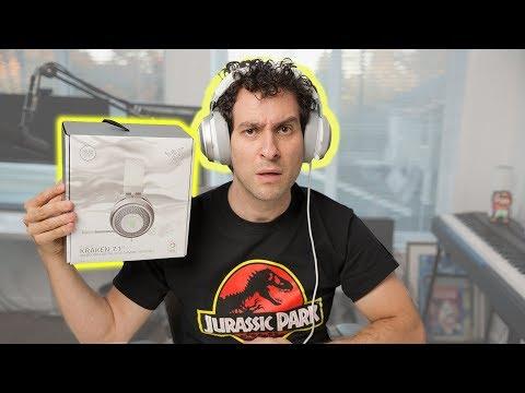 Hands-on With The Razer Kraken V2 Mercury Gaming Headphones!