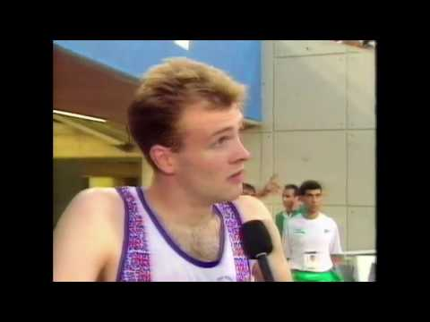 3911 Olympic Track & Field 1992 Interview Curtis Robb