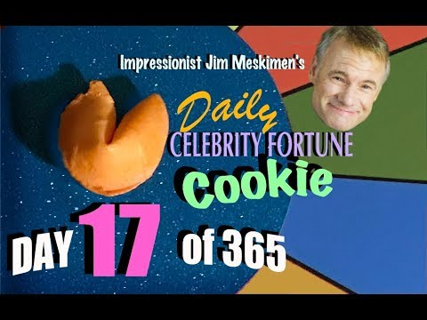 Your Daily Fortune! In Celebrity Voices by Impressionist Jim Meskimen | #17