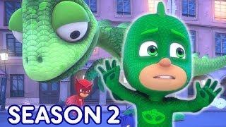 PJ Masks Season 2 Episode 3 Lionelsaurus ⭐️ Sneak Peek! ⭐️ Disney Junior #147