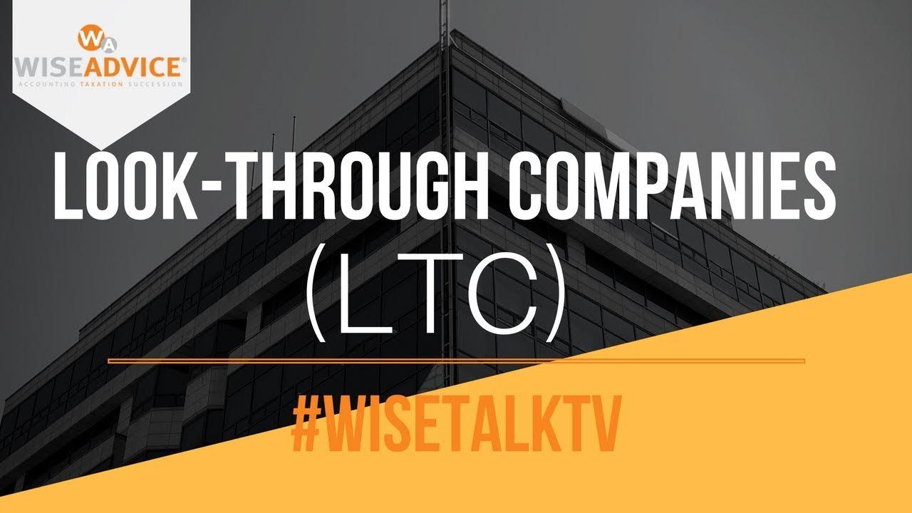 Spiksplinternieuw LTC, Look Through Company, LTC NZ, Pay Less Tax IA-08
