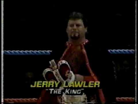 Jerry ``The King`` Lawler vs Kerry Von Erich