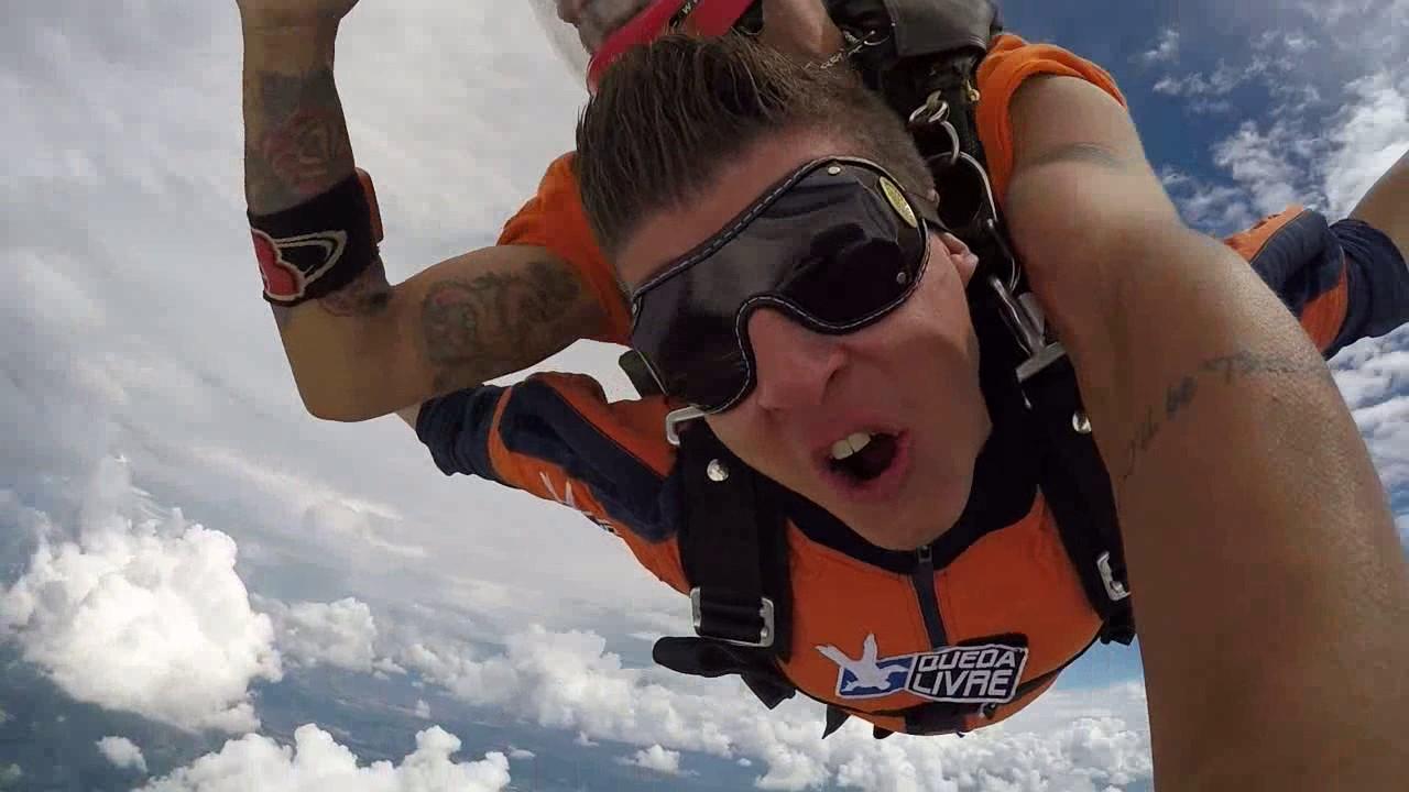 Salto de Paraquedas do Douglas M na Queda Livre Paraquedismo 07 01 2017