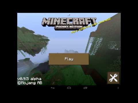 Скачать Майнкрафт на планшет Андроид
