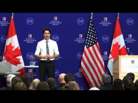 3/11/16 Prime Minister Justin Trudeau