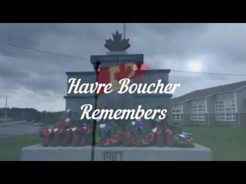 Havre Boucher Remembers 2017