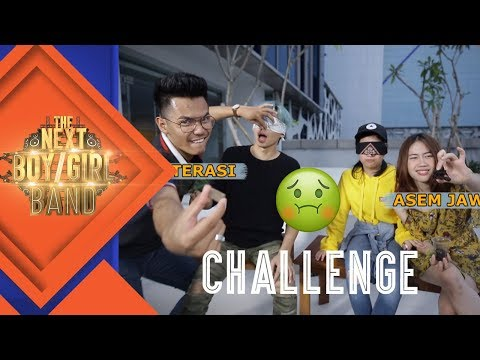 WHAT'S IN MY MOUTH CHALLENGE! | #8 CHALLENGE | The Next Boy/Girl Band S2 GTV