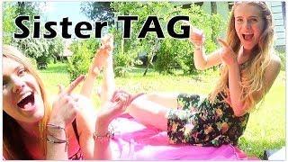 Sister TAG - POZNAJCIE MOJĄ SIOSTRĘ! ♡ || Glammy Freak