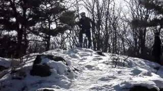 korea Unicycle Downhill (Ansan).wmv