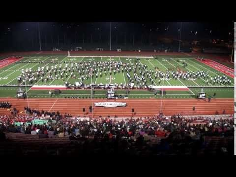 The Pride of Broken Arrow HS Marching Band - Age of Discovery - Veterans Memorial Stadium