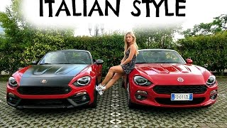 Living The Dream in Italy in the NEW FIAT 124 SPIDER