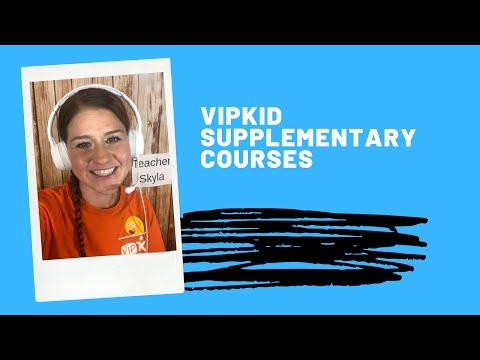 VIPKid Supplementary Courses