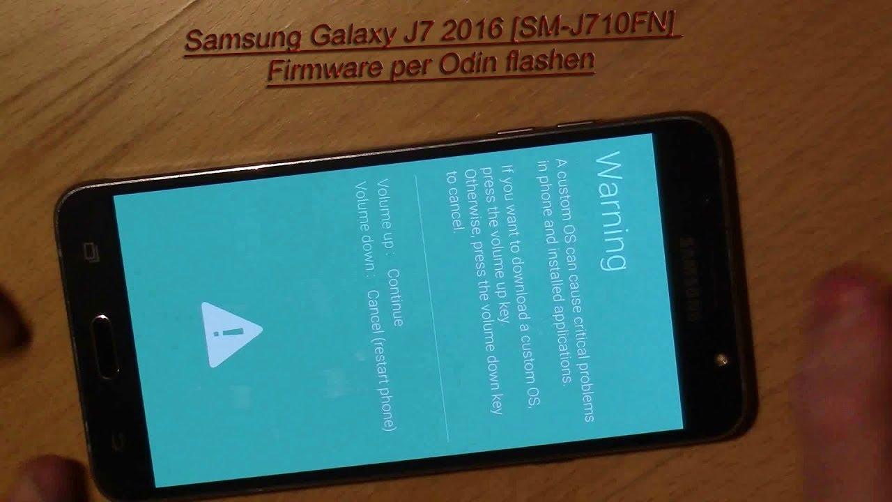 Samsung Flashen