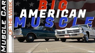 421 Pontiac Vs. 427 Ford 4 Doors  Muscle Car Of The Week Video Episode 313 V8TV
