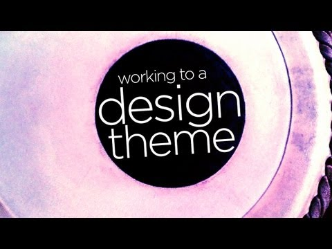 Graphic Design Tutorial: Designing to a creative theme