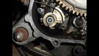 How to Calibrate Gilera Runner Oil pump.