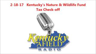 2-18-17 Kentucky's Nature & Wildlife Fund Tax Check-off