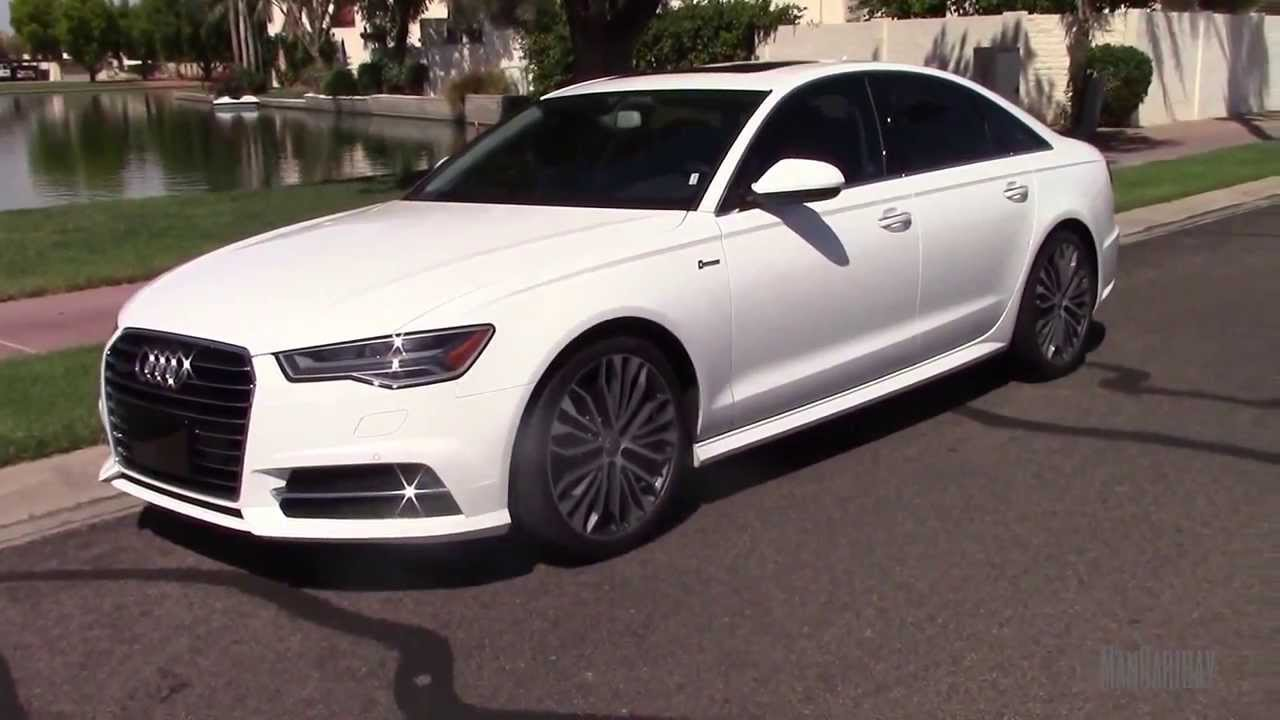 2016 audi a6 3 0t supercharged s line test drive review youtube. Black Bedroom Furniture Sets. Home Design Ideas