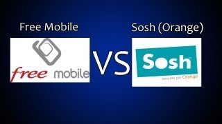 Test de débit/Youtube entre Free Mobile et Sosh #41