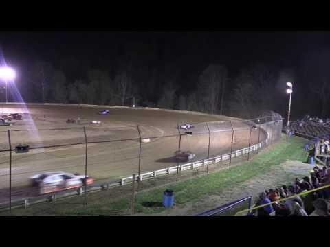 Tyler County Speedway Modified Heat Race 4- 15- 17