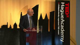 International Justice on trial: Theodor Meron at TEDxHagueAcademy