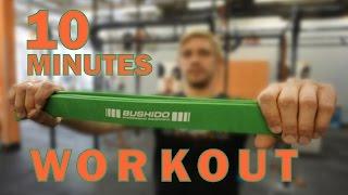 BUSHIDO 10 Minutes Training Program [Power Band]
