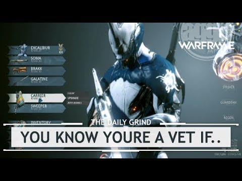 Warframe: 5 Ways You Can Tell You're a Veteran [therundown]