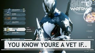 Warframe: 5 Ways You Can Tell You're a Veteran [therundown]