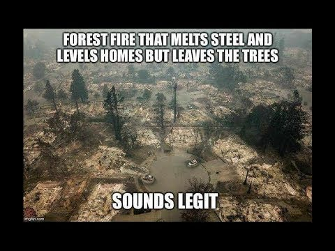 Agenda 21 California Wild Fires and Directed energy Weapons