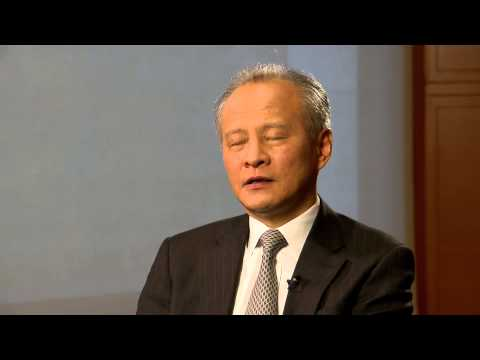 One More Question on free trade agreement for Cui Tiankai