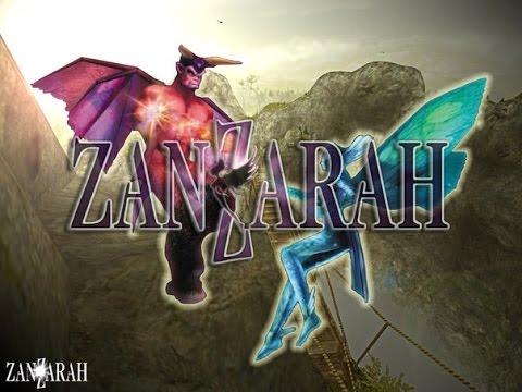 Обзор игры: Zanzarah - В поисках затерянной страны (2002).