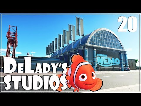 🎬 Finding Nemo Dark Ride | Disney | DeLady's Studios | Planet Coaster | Ep. 20 | World's Fair Pack| |
