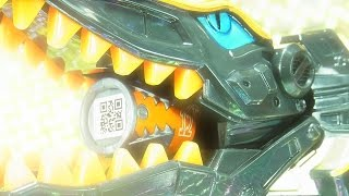 よみがえるPower Rangers Dino Super Charge  Limited Edition  Spino Zord thumbnail