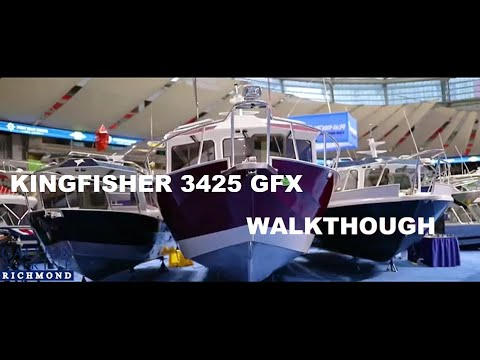 Kingfisher 3425 Offshore Walkthrough Video